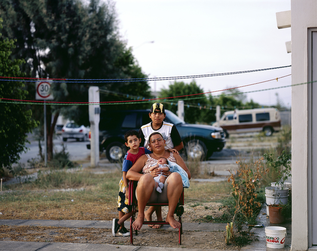 , 'Mother with Children in Juarez Suburb,' 2009, SOCO GALLERY