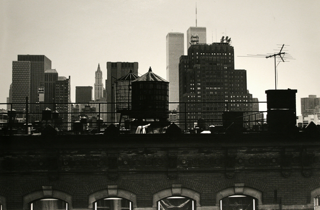 , 'New York City, Twin Towers,' 1982, Bruce Silverstein Gallery