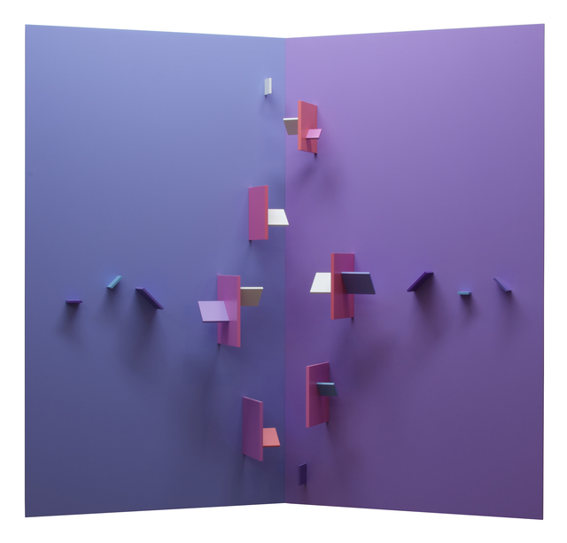 , 'Multiplane Structurist Relief VI No 1 (Sunset Series),' 1998 1999, Initial Gallery