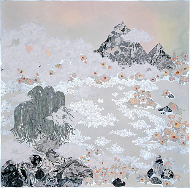 , 'the fog, ''rolling in'',' 2019, Galerie du Monde