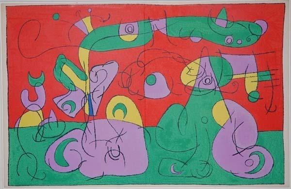 Joan Miró, 'VI. Ubu Roi: Bougrelas et Sa Mère', 1966, Contessa Gallery