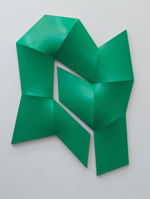 , 'Improved Dynamic Monochrome green,' 2015, Sebastian Fath Contemporary