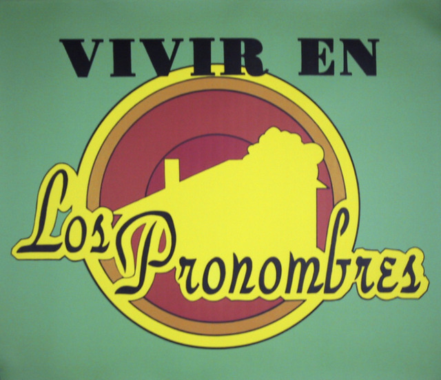 , 'Live in the Pronouns,' 1996, Claudia Arbulu Gallery