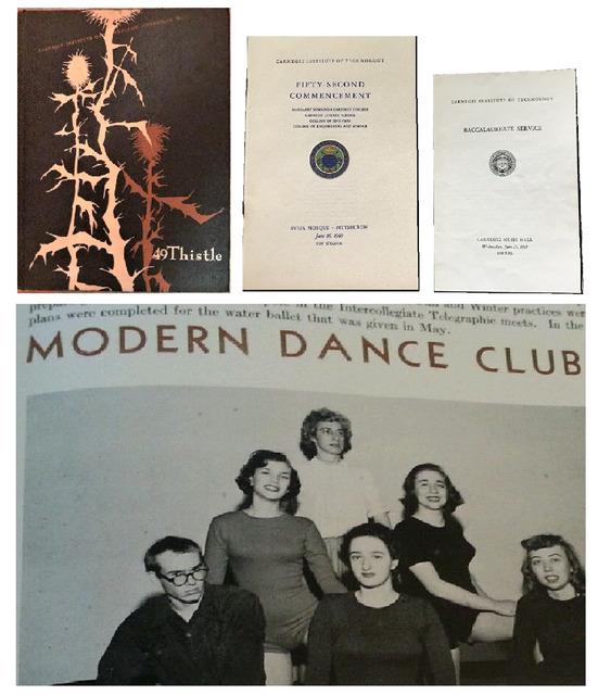 Andy Warhol, 'College Yearbook & Graduation Commencement Program/Invitation, Carnegie Institute of Technology Pittsburgh', 1949, VINCE fine arts/ephemera