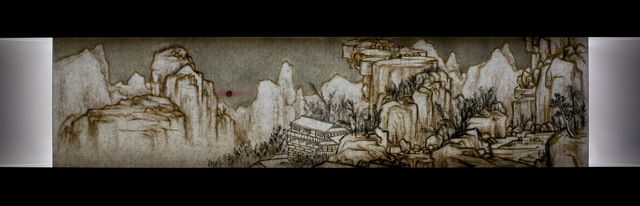 Xu Bing 徐冰, 'Background Story - Sunny After Sudden Snow Scroll 背後的故事-快雪時晴圖', 2014, Asia Art Center