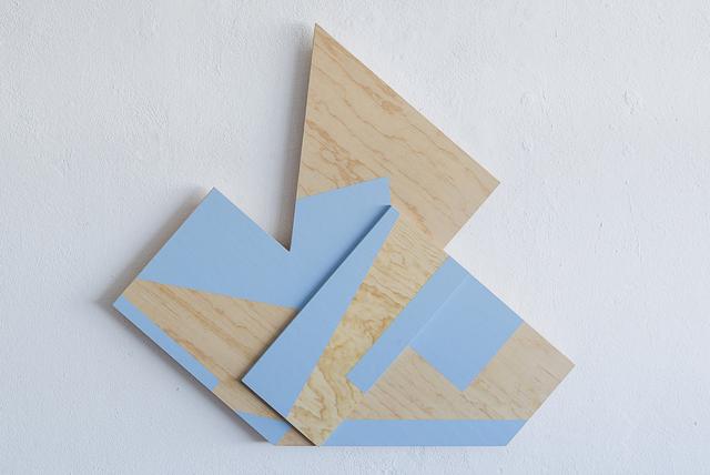 , 'Blue Composition,' 2018, Josée Bienvenu