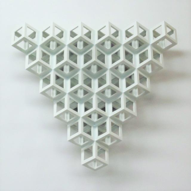 , 'Lattice Receptacle Relief D6,' 2012, ESH Gallery