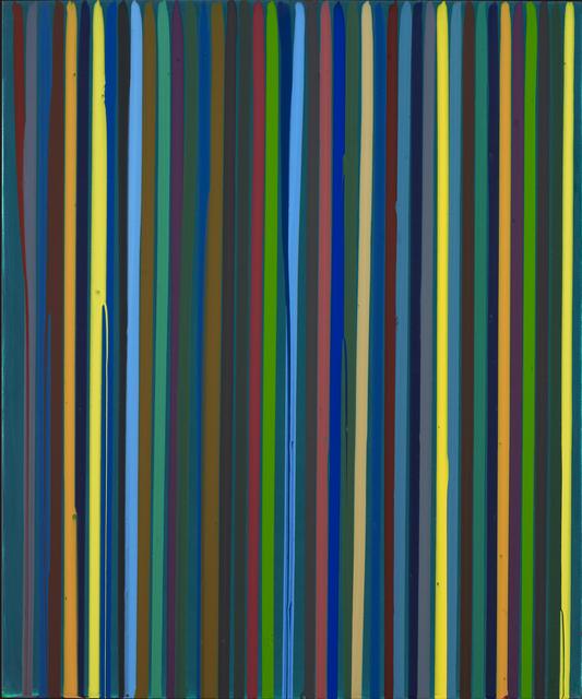 , 'Poured Lines: Dark Green,' 2007, Waddington Custot