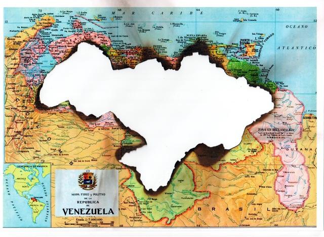 Horacio Zabala, 'Combustión I - Arde Venezuela', 2018, Henrique Faria Fine Art