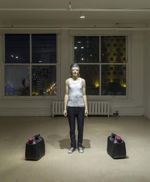 , 'Jeune poète aux bidons,' 2013, Art Mûr