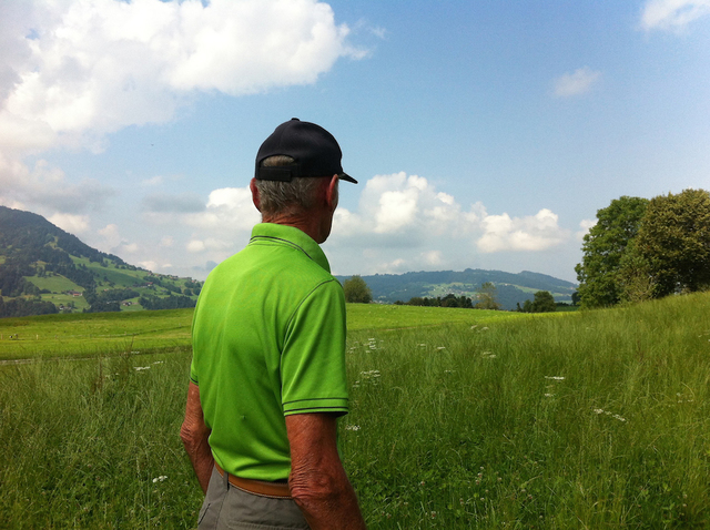 , 'My father-in-law EDWIN S. on the day he had started undergoing cancer therapy. Langenegg, Austria (July 26, 2016),' , Soho Photo Gallery
