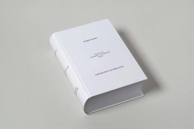 , 'One Billion Colored Dots,' 2008, mfc - michèle didier