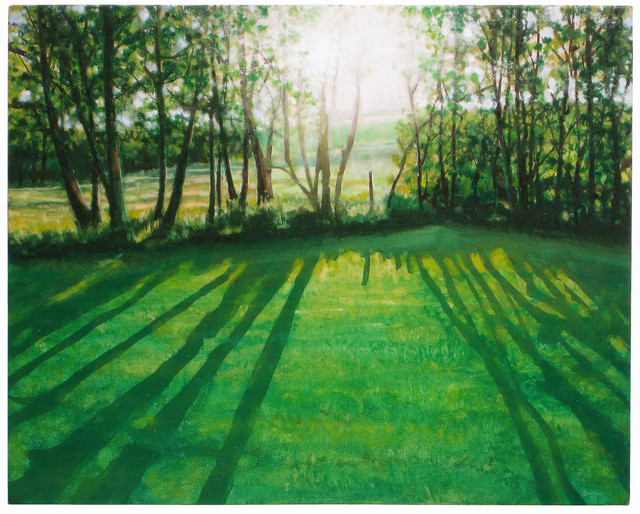 , 'Poplar Trees 2,' 2011, Albert Merola Gallery