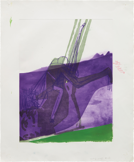Amy Sillman, 'Untitled (#21)', 2007, Phillips