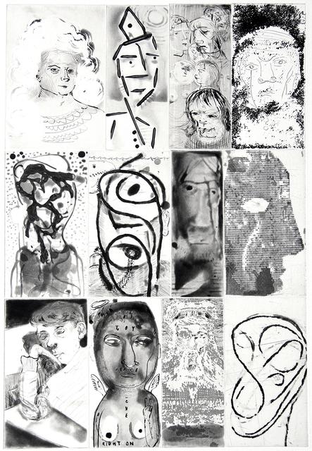 Nicole Eisenman, 'Twelve Heads', 2012, Harlan & Weaver