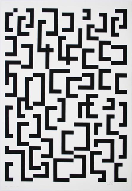 Leon Polk Smith, 'WERKUBERSICHT/WORK-OVERVIEW D', 1949-1987, Lora Reynolds Gallery