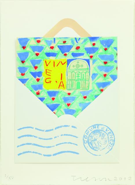 , 'Postcard from Venice, Santa Maria dei Miracoli, Venegia,' 2012, Alan Cristea Gallery