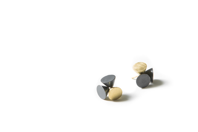 , 'Cones Gathered, Earrings,' 2017, The Gallery at Reinstein Ross