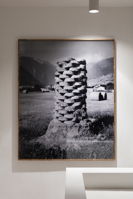 , 'Photograph of a Totem, 25th June 2016 / Rased Totems,' 2016, Laure Genillard