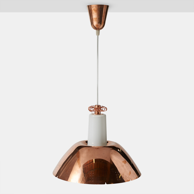 , 'Copper Pendant by Paavo Tynell Model #K2-20,' 1950-1959, Almond & Co.