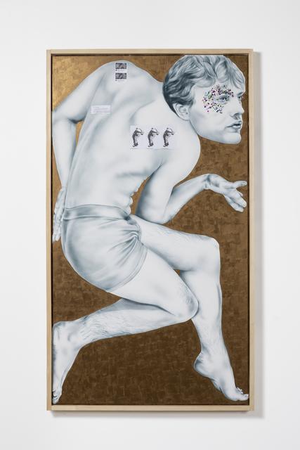 , 'Self-Portrait as Michael Pitt (Boner Or No Boner?),' 2018, Bianca D'Alessandro