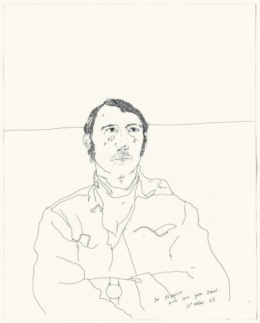 David Hockney, 'Maurice Payne', 1967, Offer Waterman