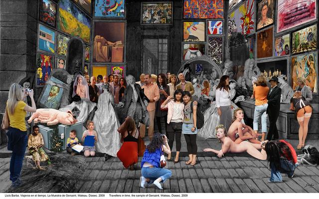 , 'Gersait sample. Watteau,' 2009, Galeria Contrast