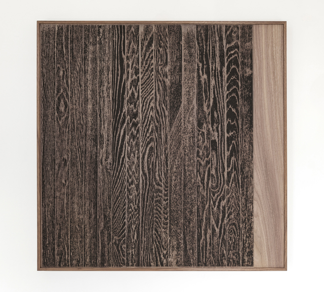 , 'Wooden Floor on Wood (Vertical),' 2017, Gemini G.E.L.