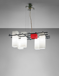 Angelo Lelii, 'Ceiling light,' 1950s, Phillips: Design