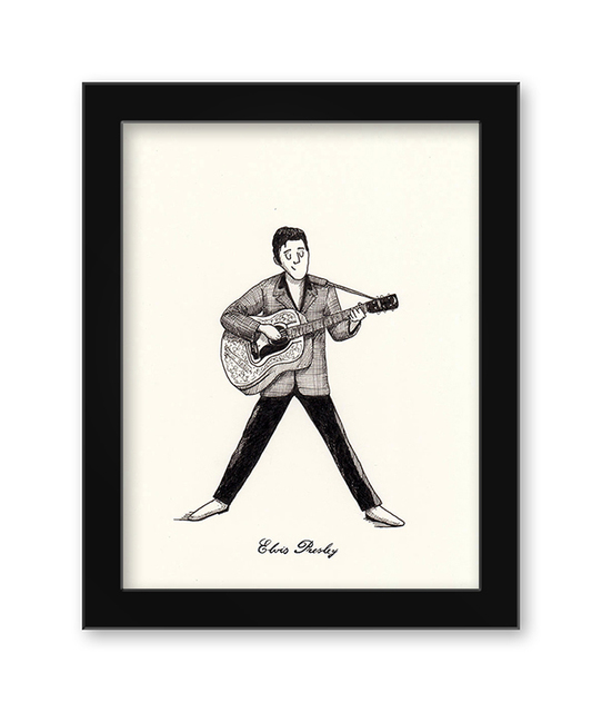 , 'Elvis Presley,' 2017, Spoke Art