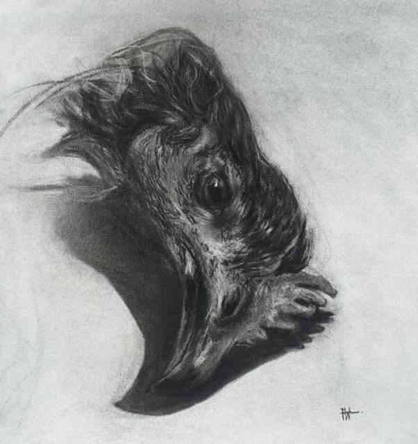 , 'Rest Series Chicken Head II,' 2017, One Off Contemporary Art Gallery