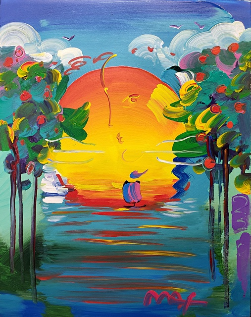 Peter Max, 'Better World ', 2014, Off The Wall Gallery
