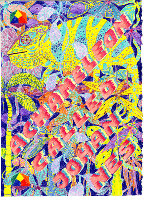 , 'A Chameleon Names Johannes - Imaginary Bands #186,' 2017, Mini Galerie