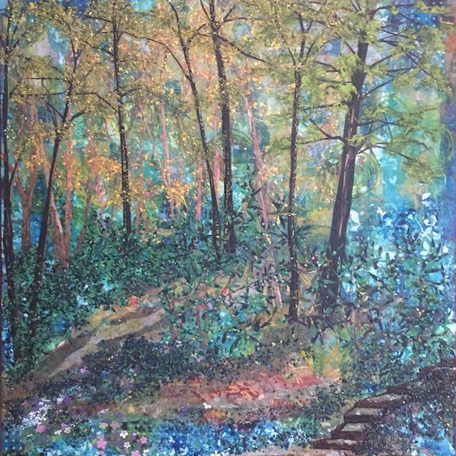 Laura Adams, 'Steps Down to Robinson Creek', 2019, Brickworks Gallery