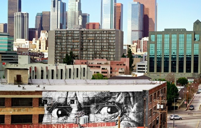 JR, 'The Wrinkles of the City, Los Angeles - Brewery Downtown - USA', 2011, Perrotin