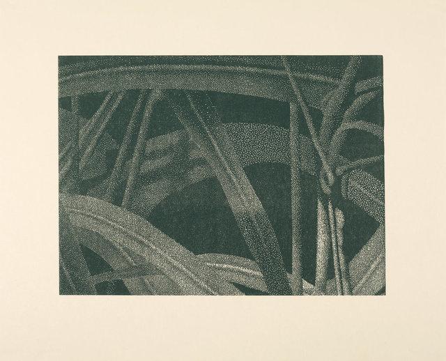 , 'Gräser I (Detail 5), Grün,' 2002, Ludorff