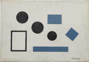 Homenaje a Theo V. Doesburg, Composición No. 7, Variación Las Tres Gracias