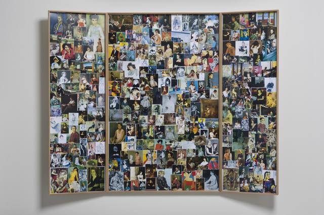 , 'Seated Women Triptych,' 2011, Galerie Mehdi Chouakri