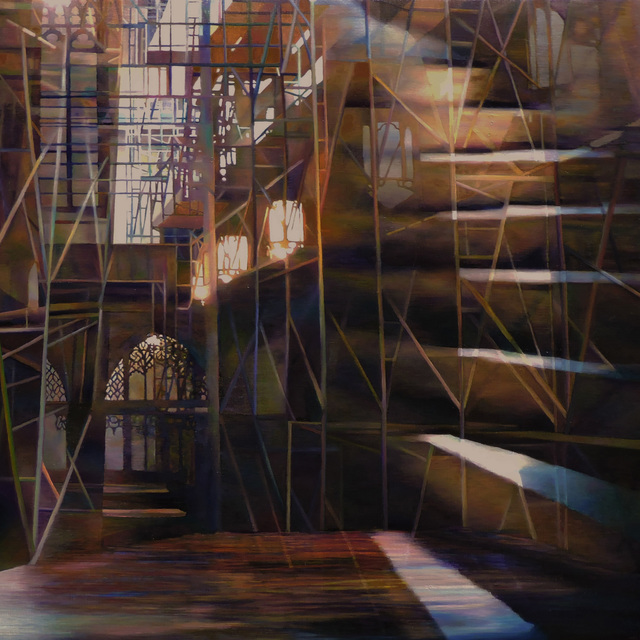 , 'Illuminated Staircase,' 2014, Duane Reed Gallery