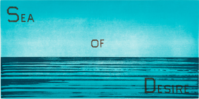 Ed Ruscha | Sea of Desire (1983) | Available for Sale | Artsy