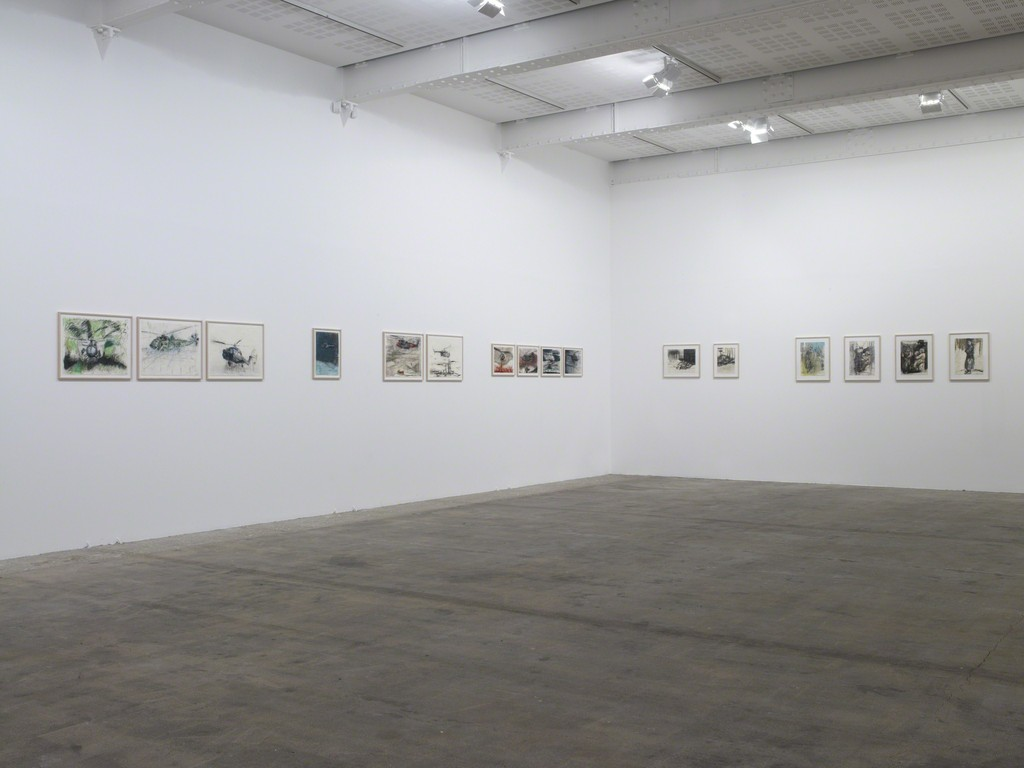 Sabine Moritz, Installation View, Galerie Marian Goodman, Paris, March 22 - May 4, 2013