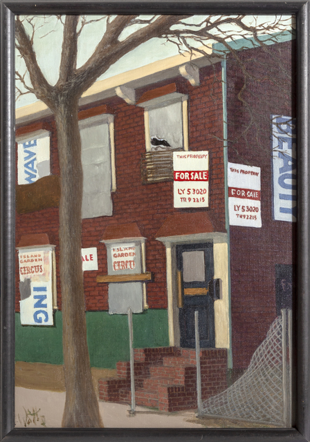 William Waithe, 'Foreclosed House', 1980, RoGallery