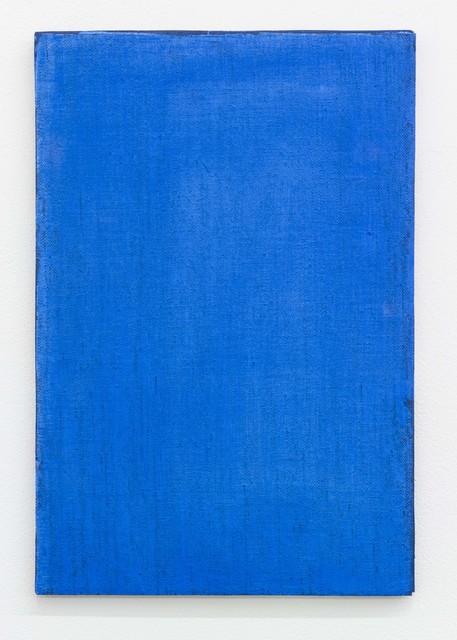 Ria Bosman, 'HEMELSBLAUW', 2020, Painting, Acrylic on textile, Tatjana Pieters