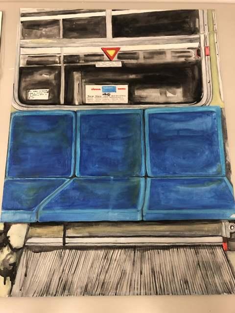 Dawline-Jane Oni-Eseleh, 'The Bus', 2013, Kala Art Institute