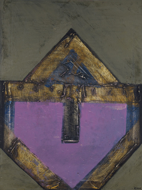 Vicente Rojo, 'Señal sobre fondo violeta', 1967, Christie's