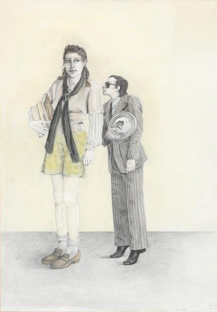 Birgit Jürgenssen, 'Großes Mädchen / Big Girl', 1975, Gwangju Biennale