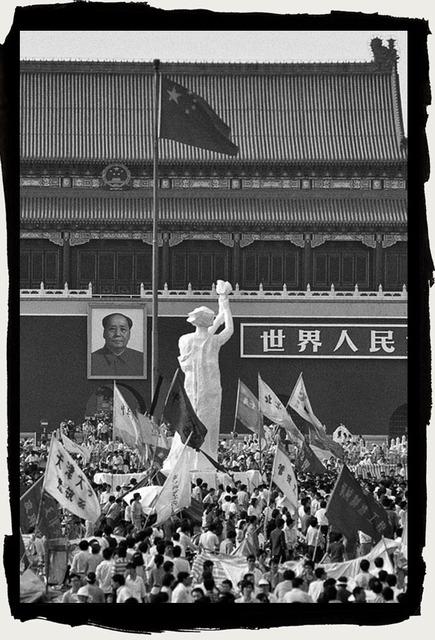 , 'Goddess of Democray, Tiananmen, Beijing, ChinaShot May 1989,' 2017, Pékin Fine Arts