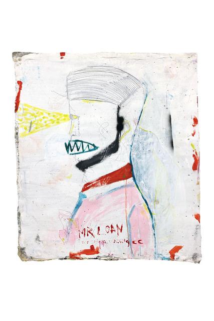 Richard Mason, 'MR LOAN 2', 2019, Painting, Acrylic and pencil on canvas, 99 Loop Gallery
