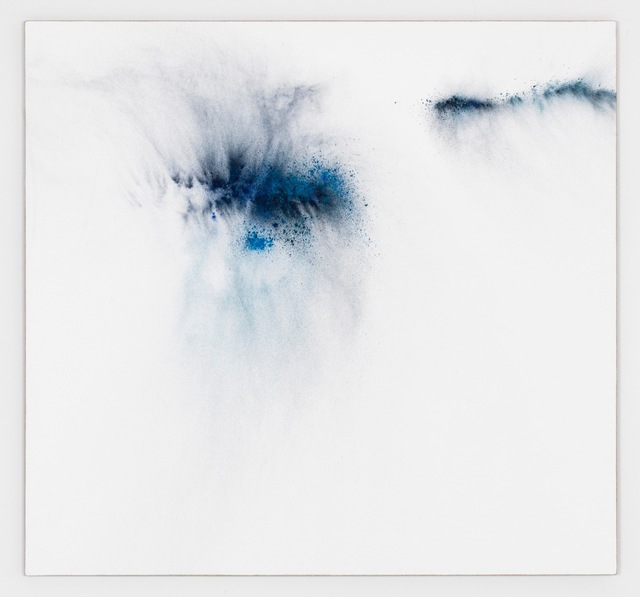 Thilo Heinzmann, 'O.T.', 2017, Painting, Oil and pigment on canvas, plexiglass cover, Perrotin