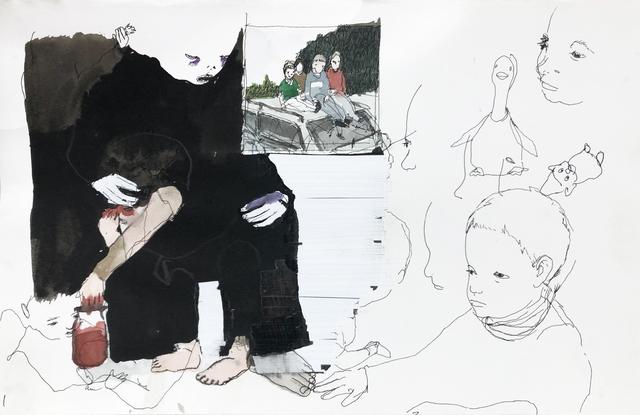 Eduardo Berliner, 'Sem Título [Untitled]', 2020, Painting, Nanquim e aquarela sobre papel [china ink and watercolor on paper], Casa Triângulo